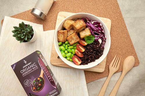 Crispy Tofu Bowl (Vegan)