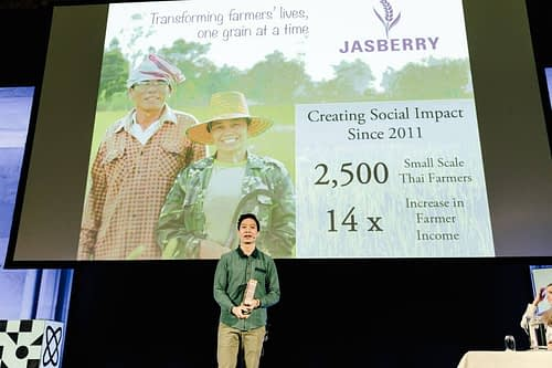 Jasberry Pitches at Oslo Innovation Week