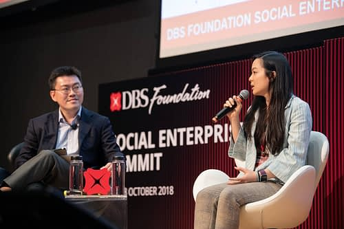Jasberry Attends DBS Foundation SE Summit