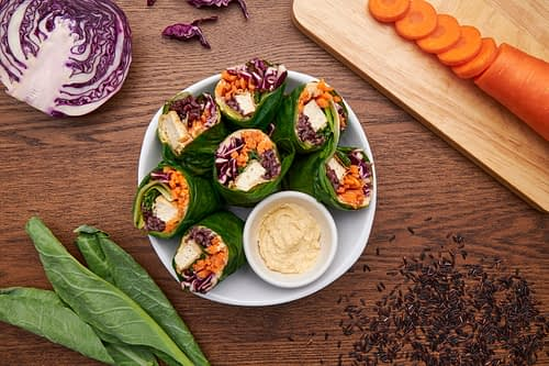 Kale Wraps (Vegan)