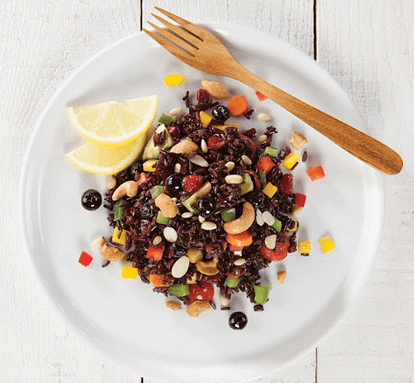 Superfood Jasberry Rice Salad (Vegan)